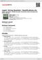 Digitální booklet (A4) Ligeti: String Quartets / Ramifications etc