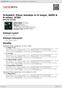 Digitální booklet (A4) Schubert: Piano Sonatas in D major, D850 & A minor, D784
