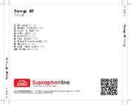 Zadní strana obalu CD Tango 87