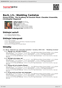 Digitální booklet (A4) Bach, J.S.: Wedding Cantatas