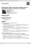Digitální booklet (A4) Schumann: Piano Concerto; Fantasy Op.17