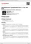 Digitální booklet (A4) Shostakovich: Symphonies Nos. 2 & 3; The Bolt
