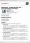 Digitální booklet (A4) Beethoven: Symphonies Nos.3 & 4