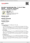 """Digitální booklet (A4) Dvorák: Symphonies Nos. 7, 8 & 9 """"New World"""" · """"Carnival"""" Overture"""