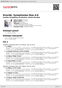Digitální booklet (A4) Dvorák: Symphonies Nos.4-6