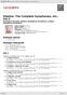 Digitální booklet (A4) Sibelius: The Complete Symphonies, etc., Vol.2