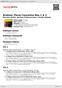 Digitální booklet (A4) Brahms: Piano Concertos Nos.1 & 2