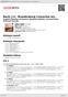 Digitální booklet (A4) Bach, J.S.: Brandenburg Concertos etc.