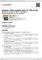"""Digitální booklet (A4) Brahms: Violin Sonatas Opp.78, 100 & 108; Scherzo from """"F.A.E"""" -Sonata"""