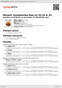 Digitální booklet (A4) Mozart: Symphonies Nos.31,32,34 & 35