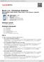 Digitální booklet (A4) Bach, J.S.: Christmas Oratorio