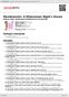Digitální booklet (A4) Mendelssohn: A Midsummer Night's Dream