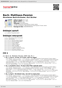 Digitální booklet (A4) Bach: Matthaus-Passion