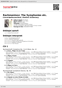 Digitální booklet (A4) Rachmaninov: The Symphonies etc.