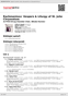 Digitální booklet (A4) Rachmaninov: Vespers & Liturgy of St. John Chrysostom