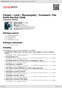 Digitální booklet (A4) Chopin / Liszt / Mussorgsky / Schubert: The Sofia Recital 1958