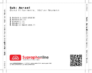 Zadní strana obalu CD Suk: Asrael