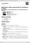 Digitální booklet (A4) Beethoven: Piano Concerto No.5; Fantasia in C minor