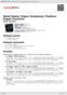 Digitální booklet (A4) Saint-Saens: Organ Symphony; Poulenc: Organ Concerto
