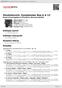 Digitální booklet (A4) Shostakovich: Symphonies Nos.6 & 12
