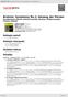 Digitální booklet (A4) Brahms: Symphony No.1; Gesang der Parzen