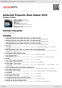 Digitální booklet (A4) Defected Presents Most Rated 2016