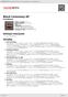 Digitální booklet (A4) Black Ceremony EP