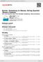 Digitální booklet (A4) Kernis: Symphony In Waves; String Quartet 'Musica Celestis'