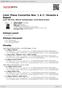 Digitální booklet (A4) Liszt: Piano Concertos Nos. 1 & 2 / Venezia e Napoli