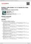 Digitální booklet (A4) Britten: Cello Suites 1 & 2; Sonata for Cello and Piano