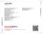 Zadní strana obalu CD 1978 - 2004