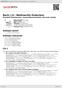 Digitální booklet (A4) Bach, J.S.: Weihnachts Oratorium