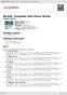 Digitální booklet (A4) Bartók: Complete Solo Piano Works