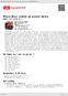 Digitální booklet (A4) Písničky jedné plavovlásky