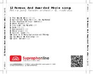 Zadní strana obalu CD 12 Famous And Awarded Movie songs