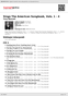 Digitální booklet (A4) Sings The American Songbook, Vols. 1 - 4