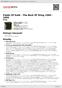 Digitální booklet (A4) Fields Of Gold - The Best Of Sting 1984 - 1994
