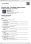 Digitální booklet (A4) Mozart, W.A.: Complete Violin Sonatas