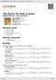 Digitální booklet (A4) 'Pot-Pourri' for flute & guitar