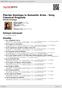 Digitální booklet (A4) Plácido Domingo in Romantic Arias - Sony Classical Originals