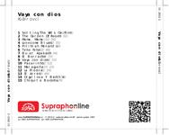 Zadní strana obalu CD Vaya con dios