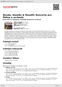 Digitální booklet (A4) Benda, Stamitz & Rosetti: Koncerty pro flétnu a orchestr