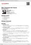 Digitální booklet (A4) Mes Chansons De France