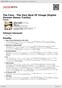 Digitální booklet (A4) The Face - The Very Best Of Visage [Digital Version Bonus Tracks]