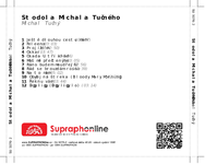 Zadní strana obalu CD Stodola Michala Tučného