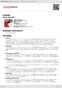 Digitální booklet (A4) Loose [International Version]