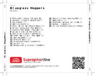 Zadní strana obalu CD Bluegrass Hoppers