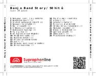 Zadní strana obalu CD Banjo Band Story / 50 hitů