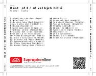 Zadní strana obalu CD Best of 2 / 48 velkých hitů