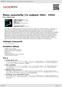 Digitální booklet (A4) Blues samotářky (To nejlepší 1962 - 1992)